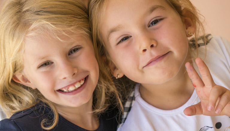 foto bambine sorridenti