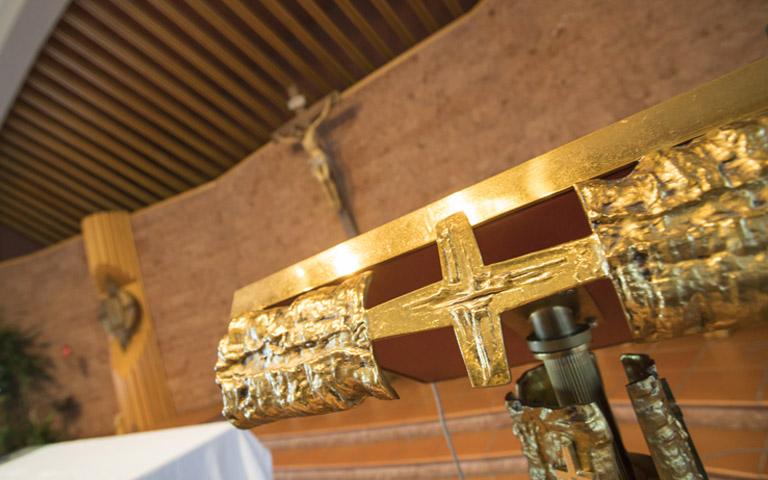 foto interna della chiesa